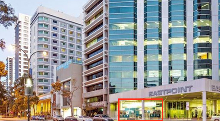 Metier retail leasing for 237 adelaide terrace perth